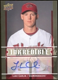 2009 Upper Deck Inkredible #LC Luke Carlin S2 Autograph