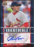 2009 Upper Deck Inkredible #MB Mitchell Boggs S2 Autograph