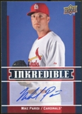2009 Upper Deck Inkredible #PA Mike Parisi S2 Autograph