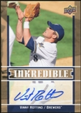 2009 Upper Deck Inkredible #VR Vinny Rottino S2 Autograph