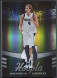 2009/10 Absolute Memorabilia #10 Dirk Nowitzki Hoopla Materials Prime Patch #2/5