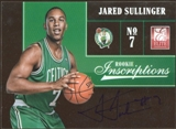 2012/13 Panini Elite Rookie Inscriptions #25 Jared Sullinger Autograph