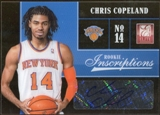 2012/13 Panini Elite Rookie Inscriptions #96 Chris Copeland Autograph