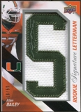 2011 Upper Deck Rookie Letterman Autographs #RSLAB Allen Bailey 16/50