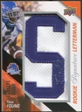 2011 Upper Deck Rookie Letterman Autographs #RSLTY Titus Young 59/100