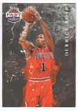 2011/12 Panini Past and Present Raining 3's #11 Derrick Rose
