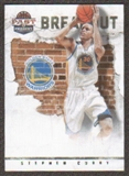 2011/12 Panini Past and Present Breakout #4 Stephen Curry