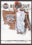 2011/12 Panini Past and Present Breakout #13 Russell Westbrook