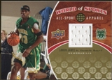 2010 Upper Deck World of Sports All-Sport Apparel Memorabilia #ASA1 LeBron James