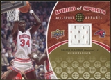 2010 Upper Deck World of Sports All-Sport Apparel Memorabilia #ASA8 Hakeem Olajuwon