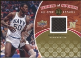 2010 Upper Deck World of Sports All-Sport Apparel Memorabilia #ASA13 David Robinson