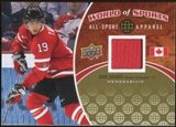 2010 Upper Deck World of Sports All-Sport Apparel Memorabilia #ASA33 John Tavares