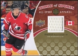 2010 Upper Deck World of Sports All-Sport Apparel Memorabilia #ASA39 Ryan Ellis