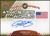 2010 Upper Deck World of Sports Athletes of the World Autographs #AW2 Derrek Lee