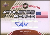 2010 Upper Deck World of Sports Athletes of the World Autographs #AW4 Phil Hughes