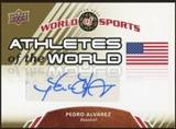 2010 Upper Deck World of Sports Athletes of the World Autographs #AW48 Pedro Alvarez