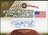 2010 Upper Deck World of Sports Athletes of the World Autographs #AW49 Justin Smoak