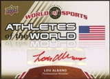 2010 Upper Deck World of Sports Athletes of the World Autographs #AW76 Lou Albano