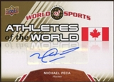 2010 Upper Deck World of Sports Athletes of the World Autographs #AW98 Michael Peca