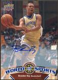 2010 Upper Deck World of Sports Autographs #3 Brandon Roy