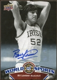 2010 Upper Deck World of Sports Autographs #19 Bill Laimbeer