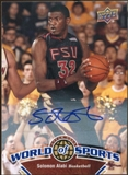 2010 Upper Deck World of Sports Autographs #33 Solomon Alabi