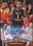 2010 Upper Deck World of Sports Autographs #40 Da'Sean Butler