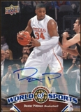 2010 Upper Deck World of Sports Autographs #45 Dexter Pittman