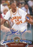 2010 Upper Deck World of Sports Autographs #59 Sam Cassell