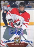 2010 Upper Deck World of Sports Autographs #193 Calvin de Haan