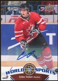2010 Upper Deck World of Sports Autographs #198 Colten Teubert