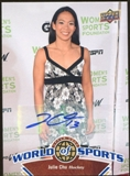 2010 Upper Deck World of Sports Autographs #242 Julie Chu