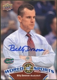 2010 Upper Deck World of Sports Autographs #366 Billy Donovan