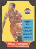 2011/12 Panini Past and Present Bread for Energy #42 Derrick Rose