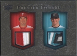 2008 Upper Deck Premier #UU Chase Utley & Dan Uggla Combos Patch #22/50