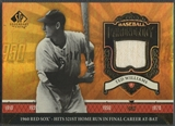 2006 SP Legendary Cuts #TW Ted Williams Baseball Chronology Materials Pants SP