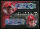 2007 Upper Deck Exquisite Collection Rookie Signatures Reflections Autographs #JD Kelvin Jimenez/Dennis Dove A