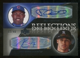 2007 Upper Deck Exquisite Collection Rookie Signatures Reflections Autographs #PG Felix Pie/Carlos Gomez Autog
