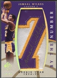 "2007/08 SP Authentic #BNJW Jamaal Wilkes By The Number Rookie Year ""7"" Patch Auto #14/50"
