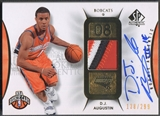 2008/09 SP Authentic #105 D.J. Augustin Rookie Patch Auto #138/299