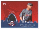 2009 Topps Update All-Star Stitches #AST62 Carl Crawford