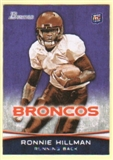2012 Topps Bowman Purple #112 Ronnie Hillman
