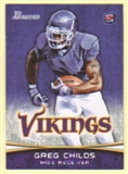 2012 Topps Bowman Purple #136 Greg Childs