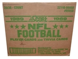 1989 Score Football Wax 20-Box Case