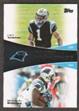 2011 Topps Faces of the Franchise #NW Cam Newton DeAngelo Williams