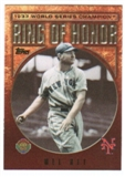 2009 Topps Ring Of Honor #RH86 Mel Ott