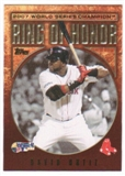 2009 Topps Ring Of Honor #RH98 David Ortiz