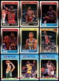 1988/89 Fleer Basketball Complete Set w/Stickers (NM-MT)
