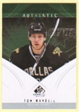 2009/10 Upper Deck SP Game Used #108 Tom Wandell RC /699