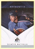 2009/10 Upper Deck SP Game Used #113 Spencer Machacek RC /699